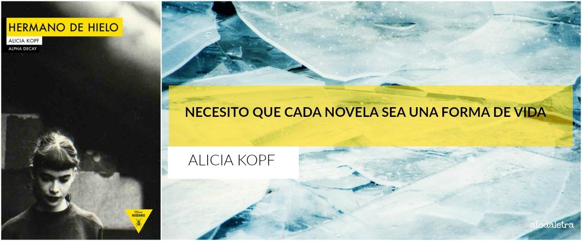 Alicia Kopf habla de su libro